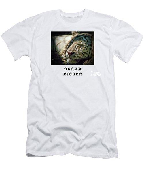 Dream Bigger Men's T-Shirt (Athletic Fit)