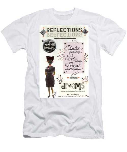 Dream For Tomorrow Men's T-Shirt (Slim Fit) by Angela L Walker