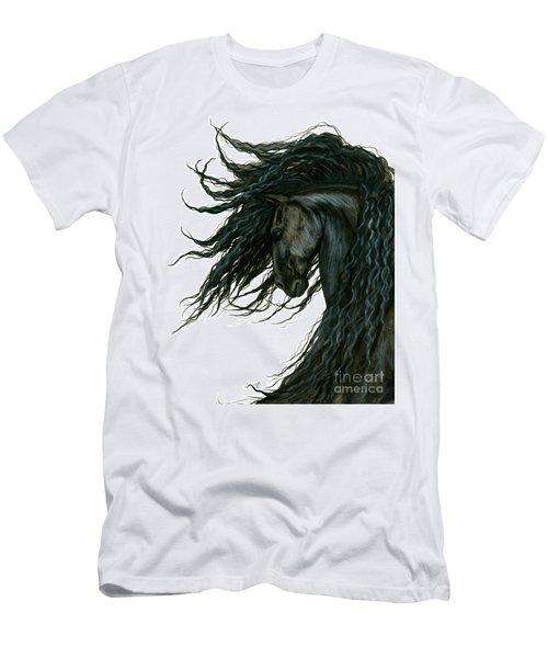 Dreamwalker Friesian Horse Men's T-Shirt (Athletic Fit)