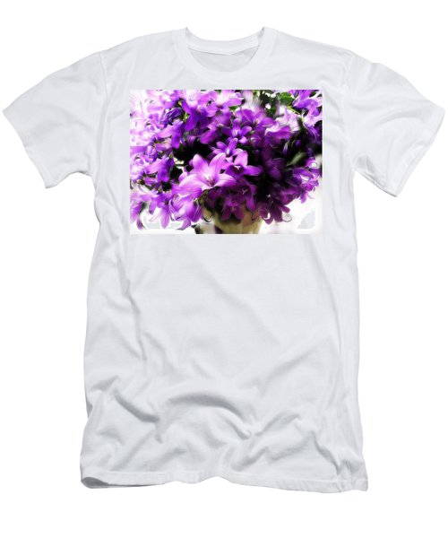 Dreamy Flowers Men's T-Shirt (Slim Fit) by Gabriella Weninger - David
