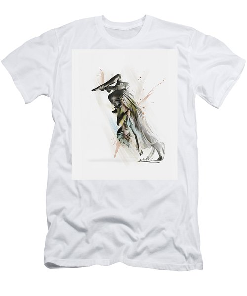 Drift Contemporary Dance Two Men's T-Shirt (Slim Fit) by Galen Valle