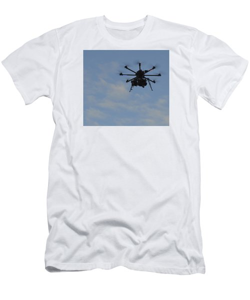 Men's T-Shirt (Slim Fit) featuring the photograph Drone by Linda Geiger