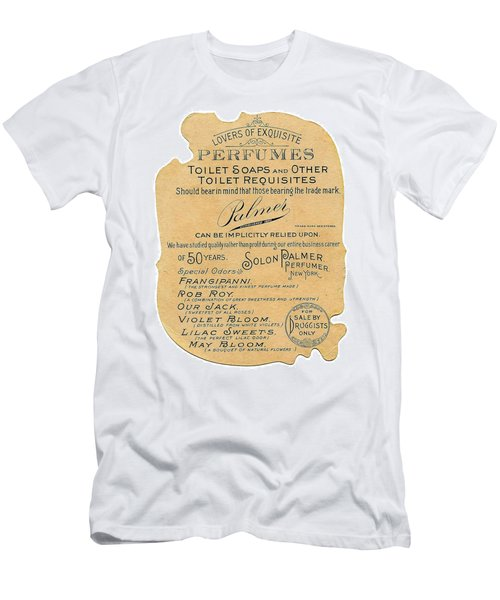 Men's T-Shirt (Athletic Fit) featuring the photograph Druggists by ReInVintaged