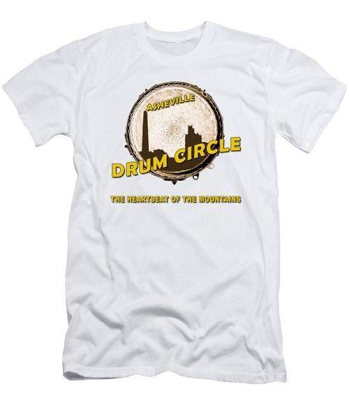 Drum Circle Logo Men's T-Shirt (Slim Fit) by John Haldane