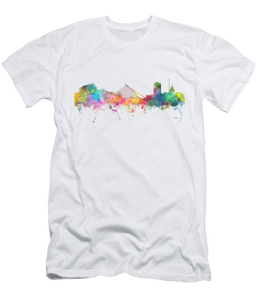 Dublin  Ireland. Skyline Men's T-Shirt (Slim Fit)