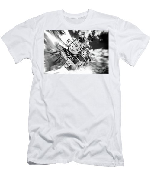 Durango Silverton Train Arrives Men's T-Shirt (Athletic Fit)