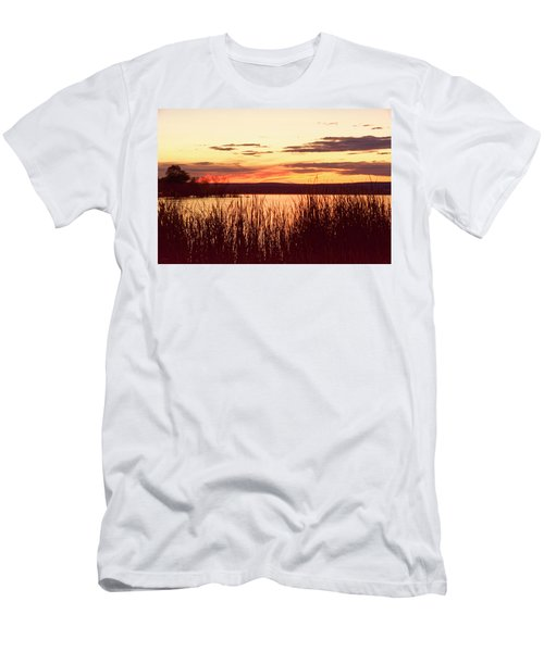 dusk on Lake Superior Men's T-Shirt (Athletic Fit)