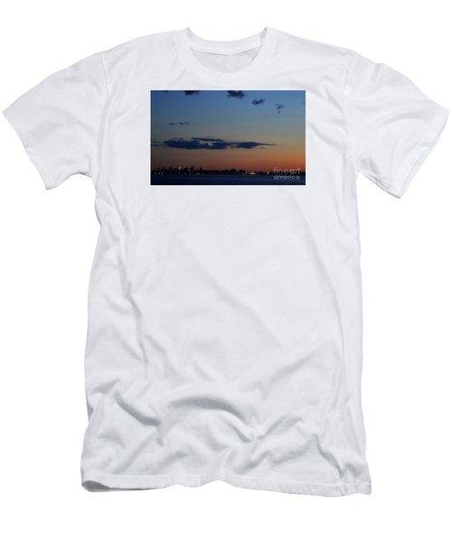 Dusk Over Boston Men's T-Shirt (Athletic Fit)