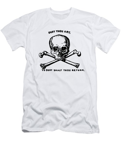 Dust To Dust Tee Black Ink Men's T-Shirt (Athletic Fit)