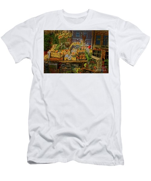 Dutch Shop Men's T-Shirt (Slim Fit) by Sandy Moulder