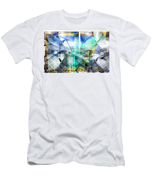 Dynamic Cubes Men's T-Shirt (Athletic Fit)