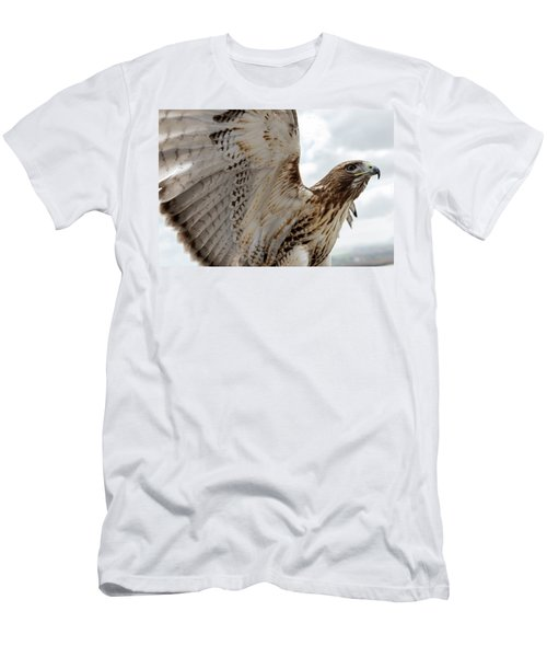 Eagle Going Hunting Men's T-Shirt (Athletic Fit)