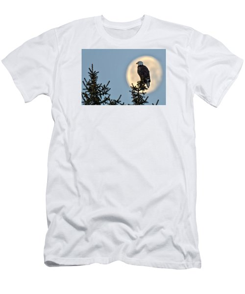Eagle Moon Men's T-Shirt (Athletic Fit)