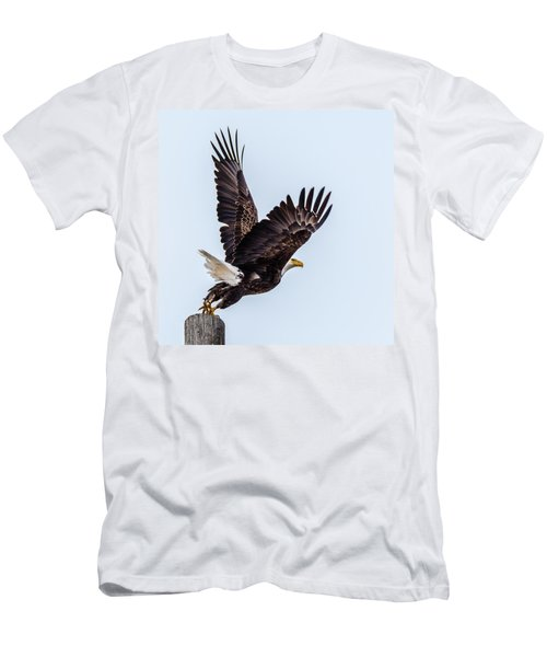 Eagle Taking Flight Men's T-Shirt (Athletic Fit)