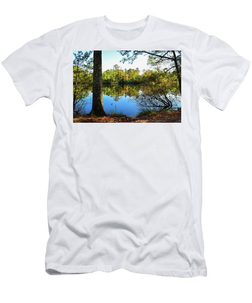 Early Fall Reflections Men's T-Shirt (Athletic Fit)