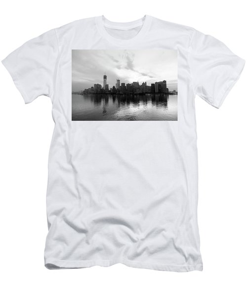 Early Morning In Manhattan Men's T-Shirt (Athletic Fit)