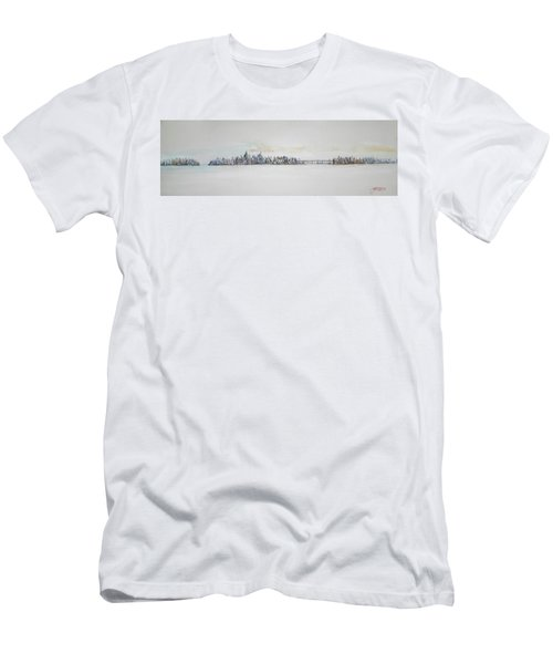 Early Skyline Men's T-Shirt (Athletic Fit)