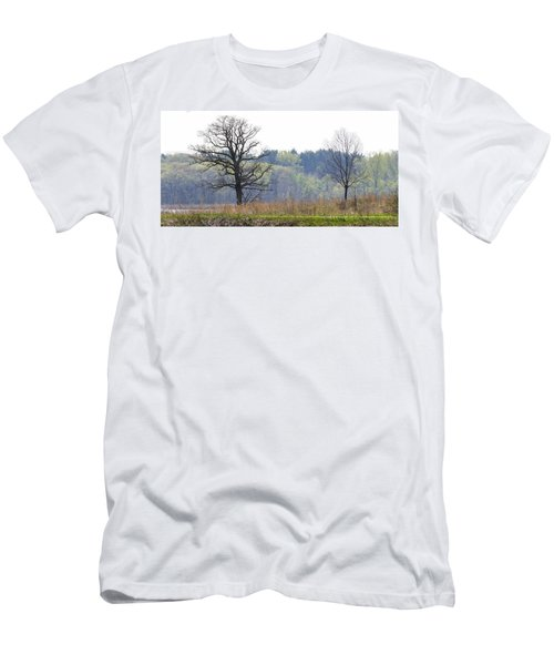 Early Spring Silhouettes  Men's T-Shirt (Athletic Fit)