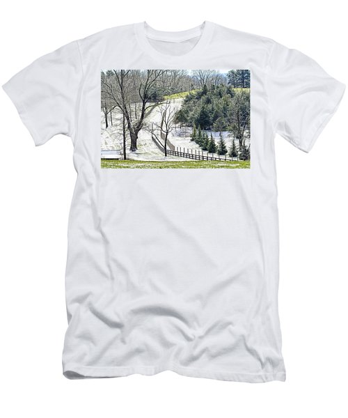 Early Winter Pasture Men's T-Shirt (Athletic Fit)