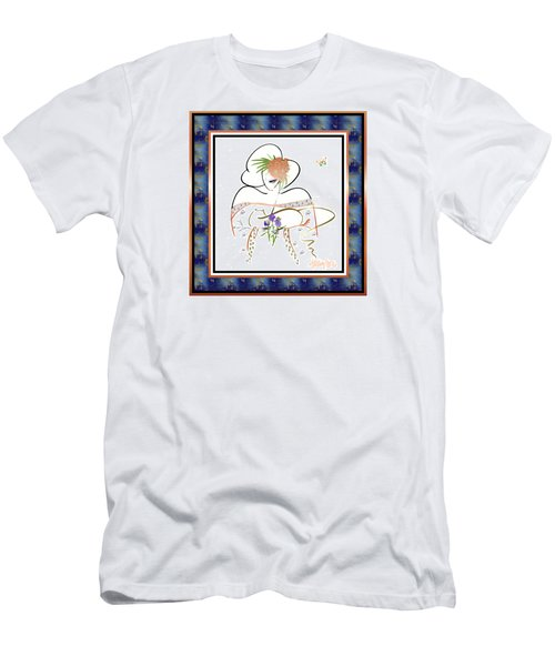 East Wind - Temple Cat Men's T-Shirt (Athletic Fit)