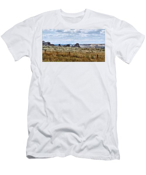 Eastern Wyoming Sky Men's T-Shirt (Athletic Fit)