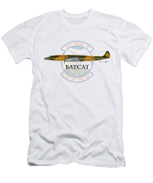 Ec-121r Batcat Men's T-Shirt (Athletic Fit)