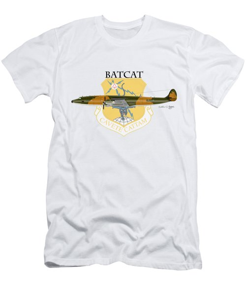 Ec-121r Batcatcavete Men's T-Shirt (Athletic Fit)