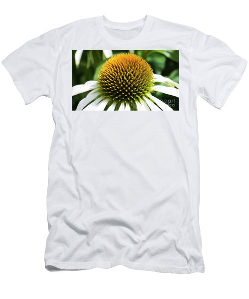 Men's T-Shirt (Athletic Fit) featuring the photograph Echinacea - Head And Shoulders by Wendy Wilton