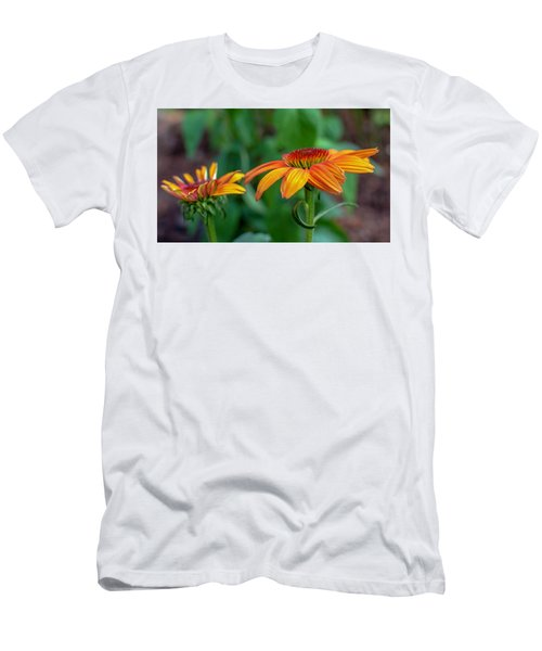 Echinacea Side View Men's T-Shirt (Athletic Fit)