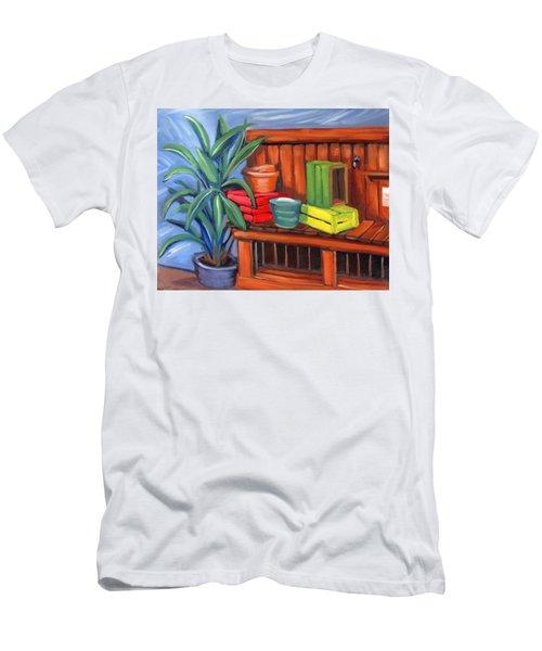 Edwards Nursery Potting Bench Men's T-Shirt (Athletic Fit)