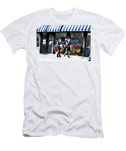 Egg Transport Men's T-Shirt (Athletic Fit)