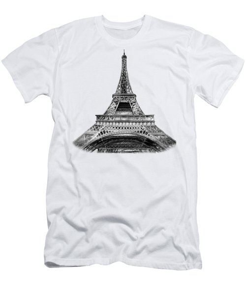 Eiffel Tower Design Men's T-Shirt (Athletic Fit)