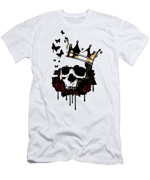 El Rey De La Muerte Men's T-Shirt (Slim Fit) by Nicklas Gustafsson