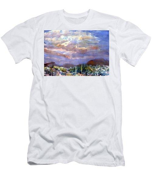 Electric Sunset Men's T-Shirt (Athletic Fit)