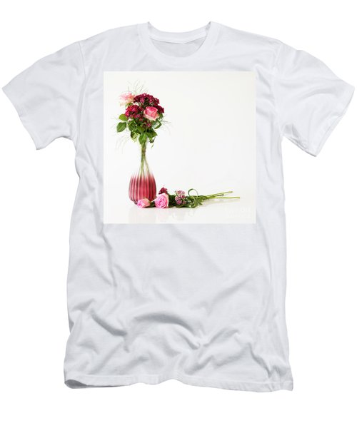 Men's T-Shirt (Athletic Fit) featuring the photograph Elegance by Wendy Wilton