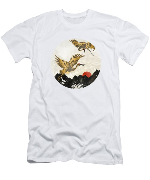 Elegant Flight II Men's T-Shirt (Athletic Fit)