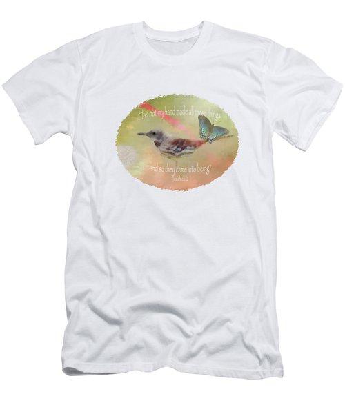 Elements Of Nature - Verse Men's T-Shirt (Athletic Fit)