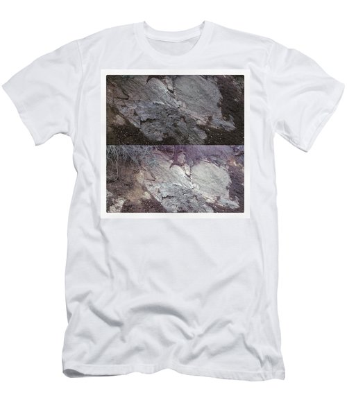 Elephant Formation  Men's T-Shirt (Slim Fit)