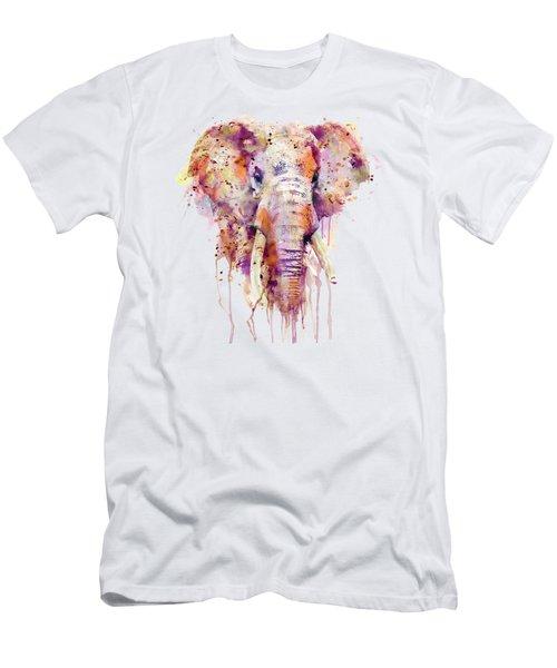 Elephant  Men's T-Shirt (Slim Fit)