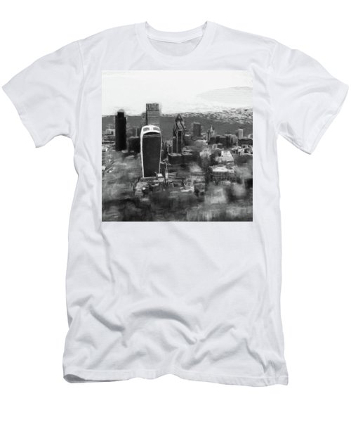 Elevated View Of London Men's T-Shirt (Athletic Fit)