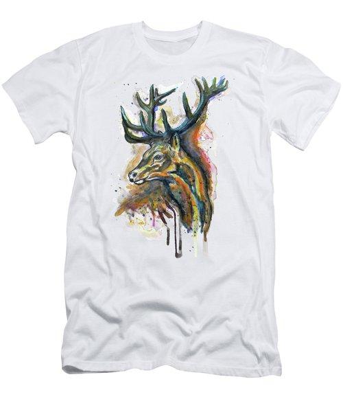 Elk Head Men's T-Shirt (Athletic Fit)