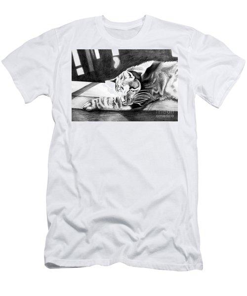 Elmer The Cat Men's T-Shirt (Athletic Fit)