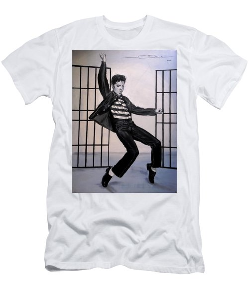 Elvis Presley Jailhouse Rock Men's T-Shirt (Athletic Fit)