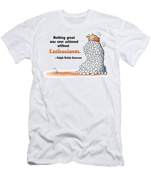 Embrace Enthusiasm Men's T-Shirt (Athletic Fit)