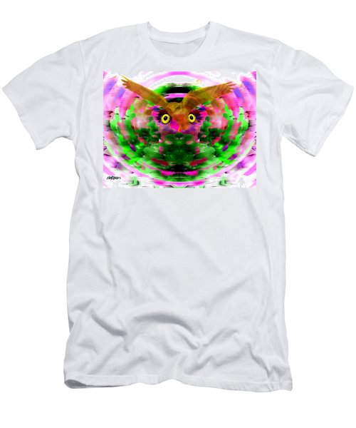 Men's T-Shirt (Slim Fit) featuring the digital art Embrace The Wind by Seth Weaver