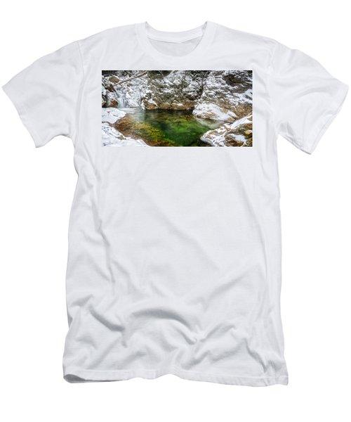 Emerald Pool Ellis River Nh Men's T-Shirt (Athletic Fit)