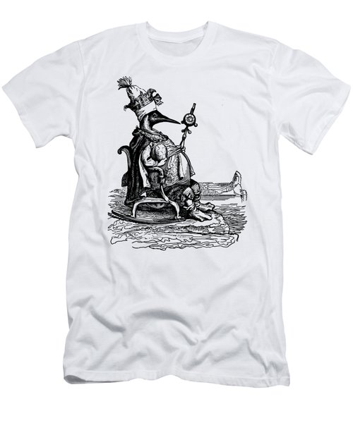 Empire Penguin Grandville Transparent Background Men's T-Shirt (Athletic Fit)