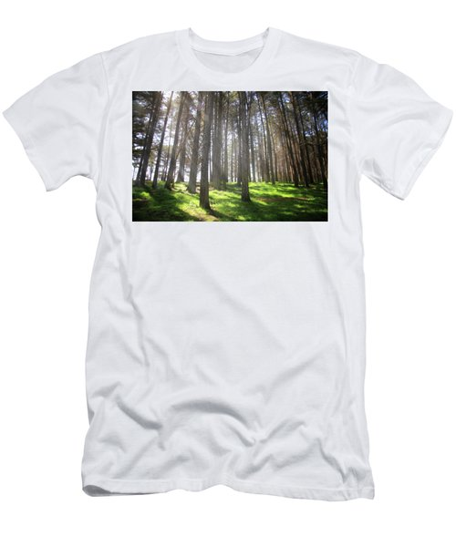 Men's T-Shirt (Slim Fit) featuring the photograph Enchanted by Laurie Search