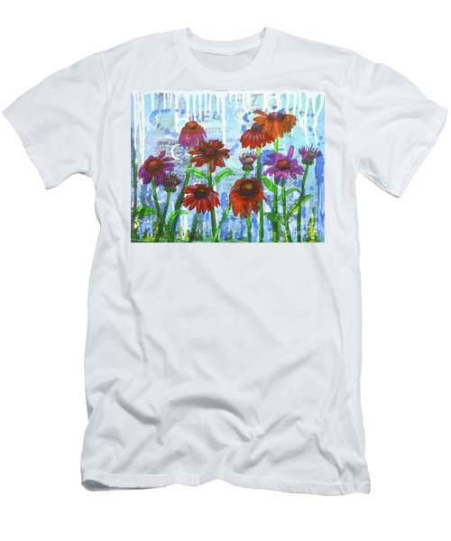 Enchanting Echinacea Men's T-Shirt (Athletic Fit)
