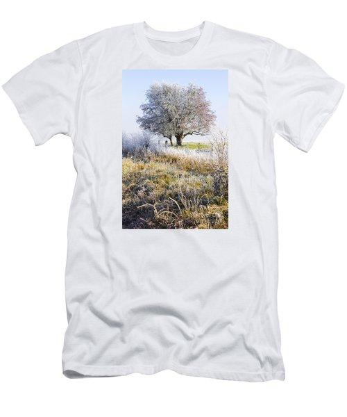 Enchanting Snow Covered Landscape Men's T-Shirt (Athletic Fit)